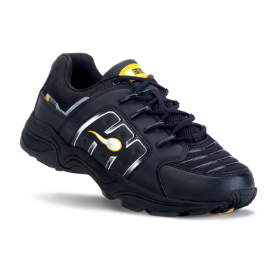 Mens XLR8 BlackYellow Sports Shoe
