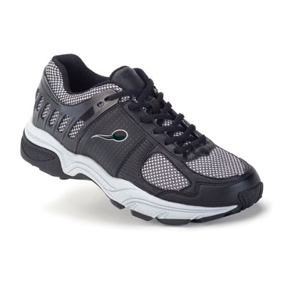 Ballistic Women's Black/White Sports Sneaker