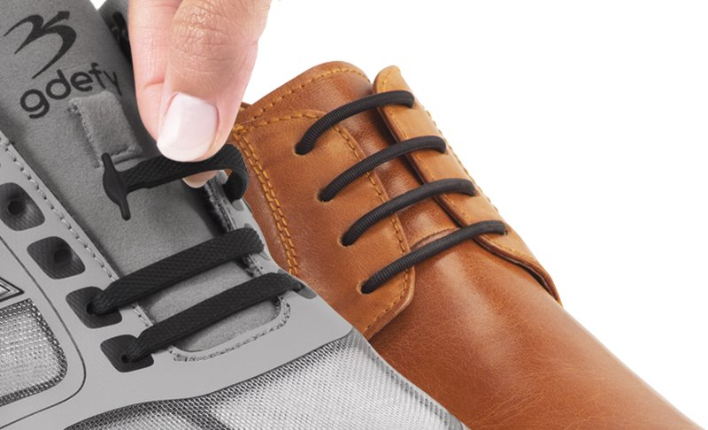 Image Of Laceless Prodcucts On Shoes
