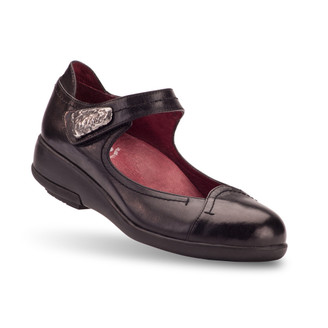 Black Women's Voya Flats