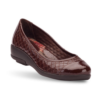 Brown Women's Genevy Flats