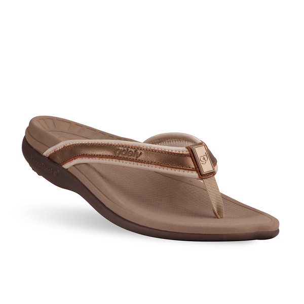 womens bronze Mary sandals-2