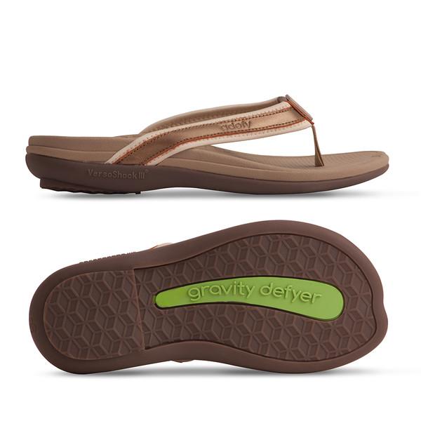 womens bronze sandals-3