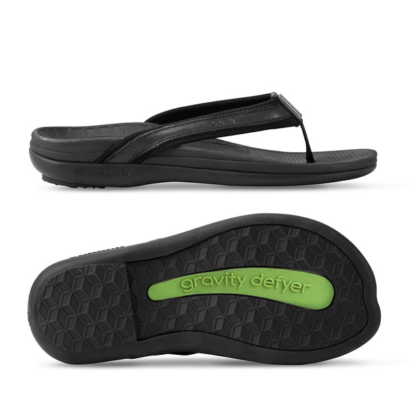 womens black Mary sandals-3