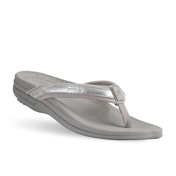 womens silver Mary sandals-2
