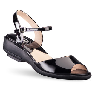 Black Women's Tiffany Sandals