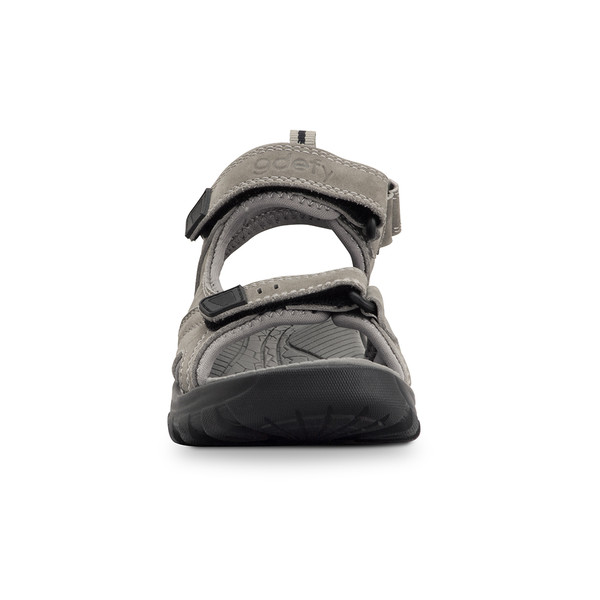 womens Sunset gray sandals angle-5