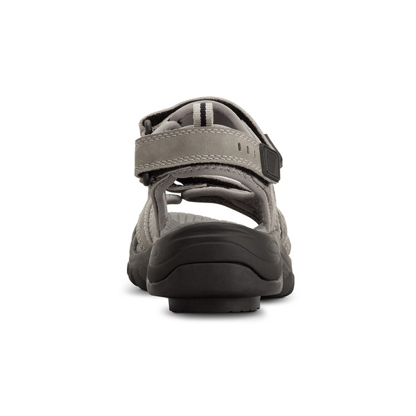 womens Sunset gray sandals angle-6