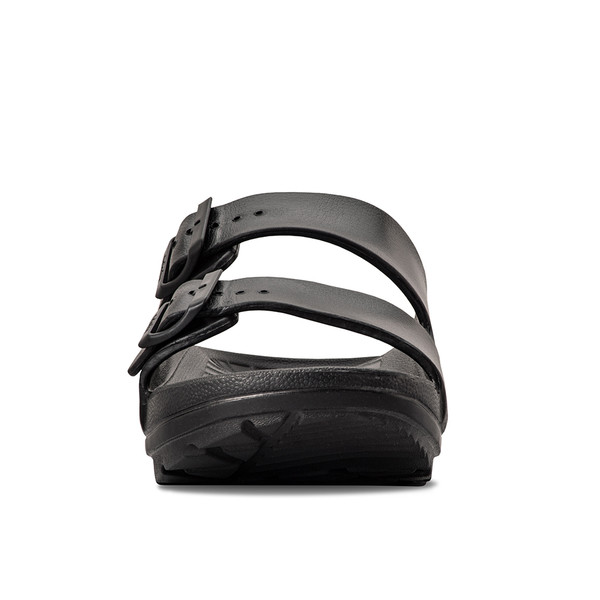 photo of women's upbov black sandals angle -5