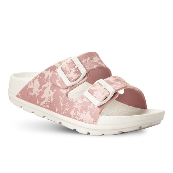 photo of women's upbov white-pink sandals angle