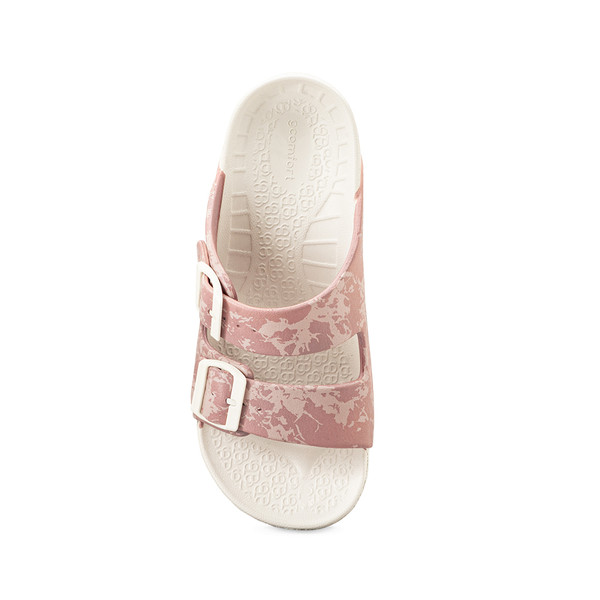 photo of women's upbov white-pink sandals angle -4
