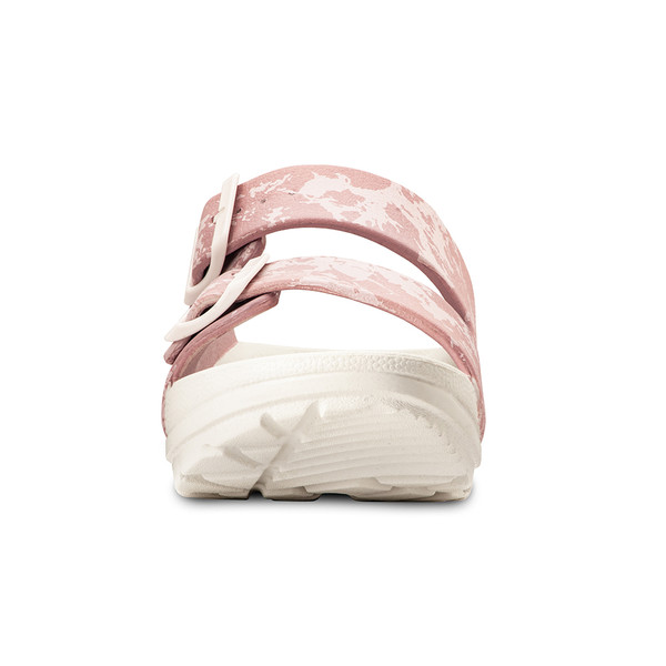 photo of women's upbov white-pink sandals angle -5