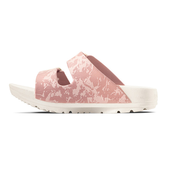 photo of women's upbov white-pink sandals angle -7
