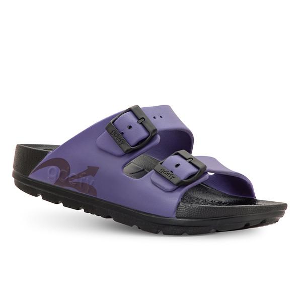 photo of women's upbov black-purple sandals angle