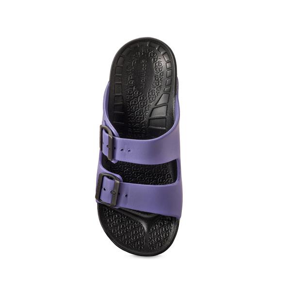 photo of women's upbov black-purple sandals angle -4