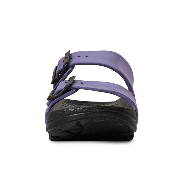 photo of women's upbov black-purple sandals angle -5