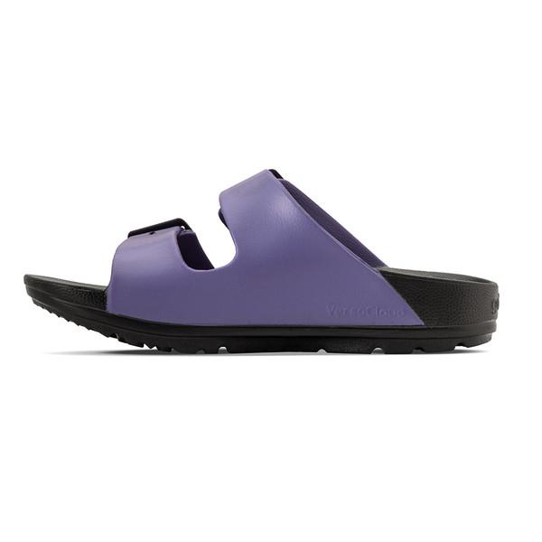 photo of women's upbov black-purple sandals angle -7