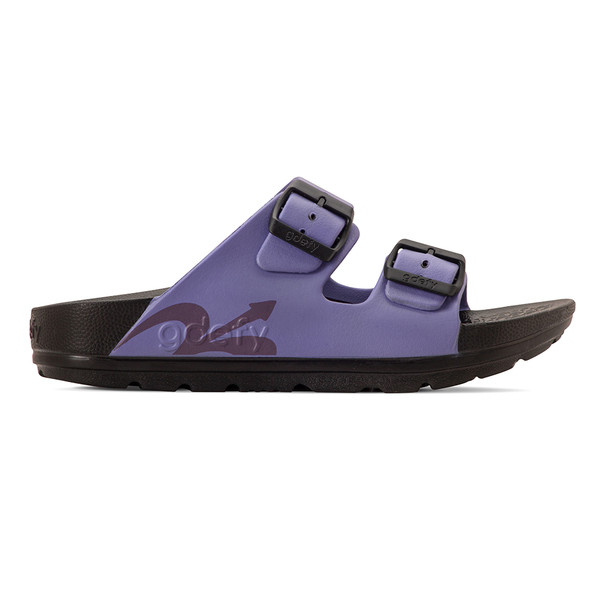 photo of women's upbov black-purple sandals angle -2