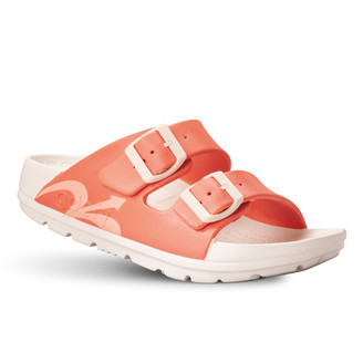 photo of women's upbov white-peach sandals angle