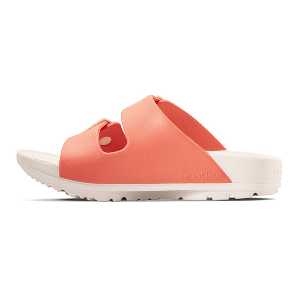 photo of women's upbov white-peach sandals angle -7
