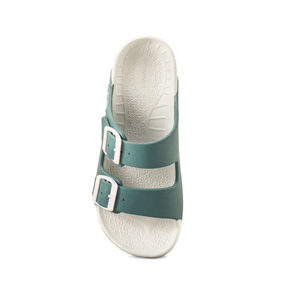 photo of women's upbov white-blue sandals angle -4