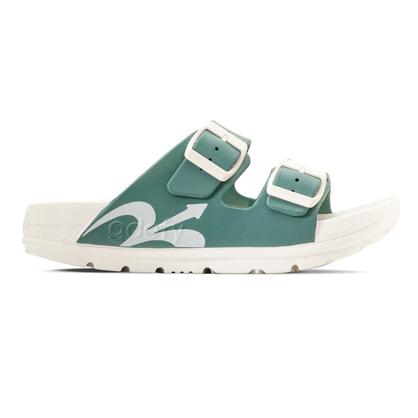 photo of women's upbov white-blue sandals angle -2
