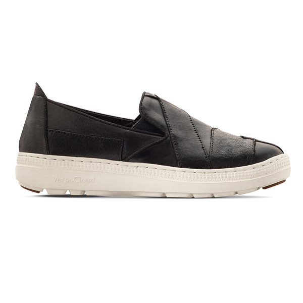 womens Orpha black casual flat-2
