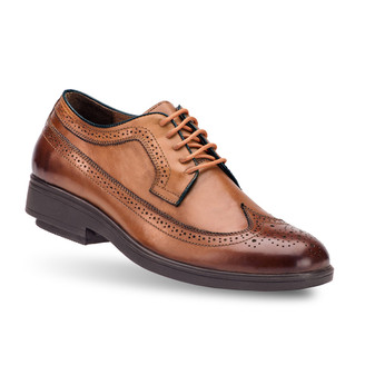 Brown Men's New Yorta Oxford Shoes
