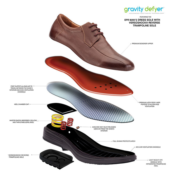 Brown Men's Jossy Oxford Shoes