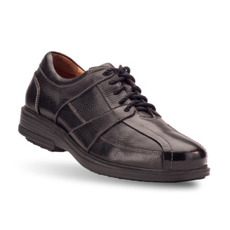 Black Men's Longos Casual Shoes