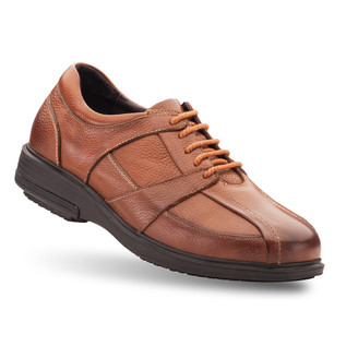 Brown Men's Longos Oxford Shoes