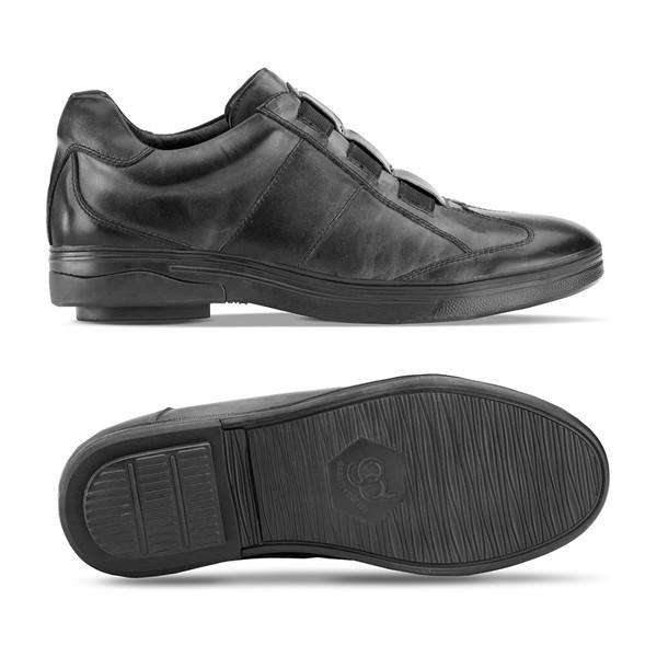 Black Men's Raddley Casual Shoes -1