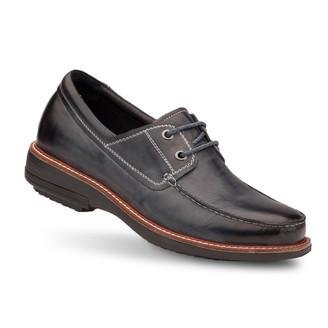 Black Men's Regal Boat Shoes