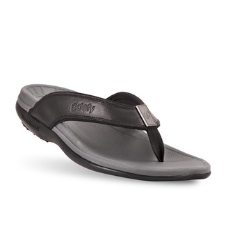 men's Ron black sandals-2