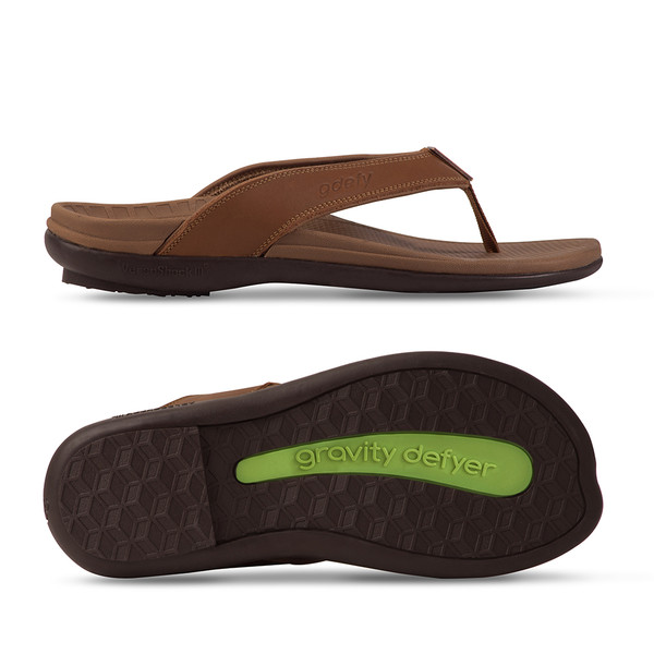 men's Ron brown sandals-3