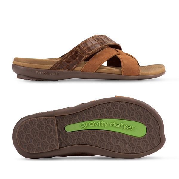 men's Lewis brown sandals-3
