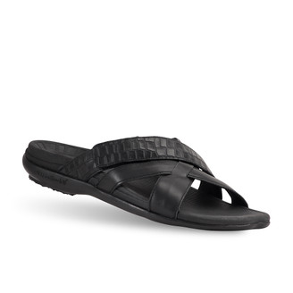 mens Lewis black sandals-2