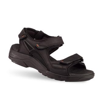 Black Men's Russel Sandals