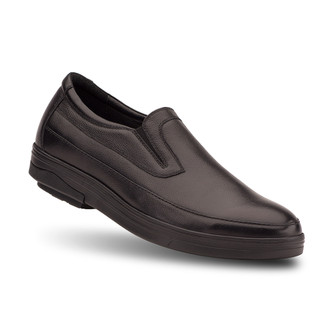 Black Men's Guy Loafer Shoes