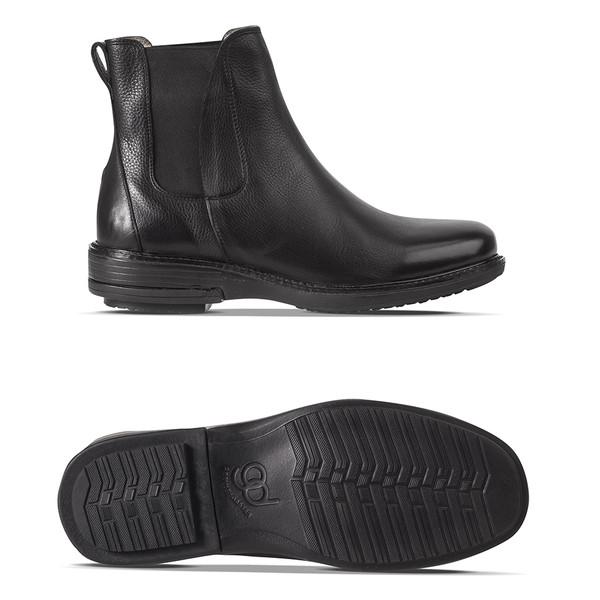 men's Macallan black boot angle-2