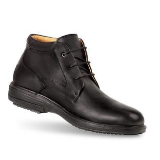 men's Andrew black boot angle-2