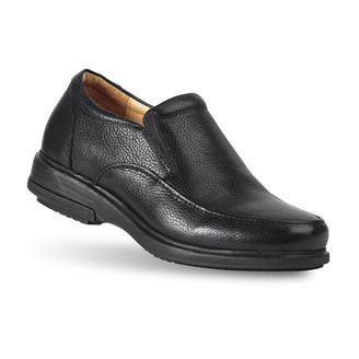 Black Men's Woodford Black Dress Loafers
