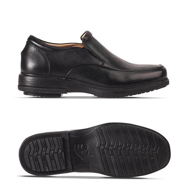 men's black Woodford loafer angle-2
