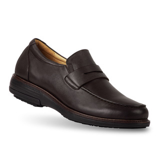 men's Sorrento brown loafer angle-1