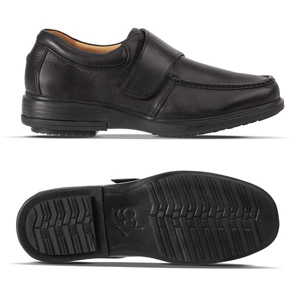 mens Lucca black loafer-2