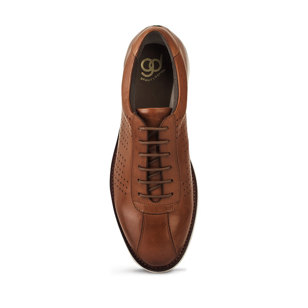 mens Winton brown casual angle-4