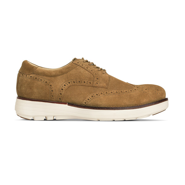 men's Aspen brown oxford angle-2