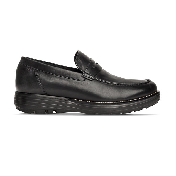 men's Heartwood black shoe Angle-2
