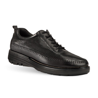 TB8153L MEN'S OSAGE BLACK SHOE