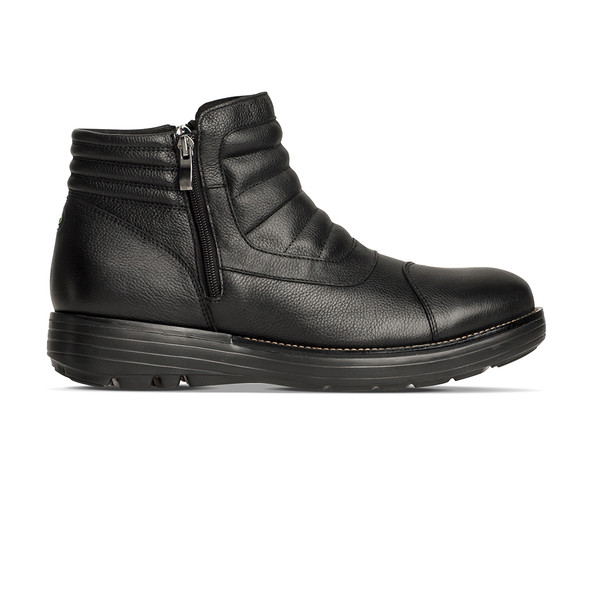 men's Raven black boot angle-2